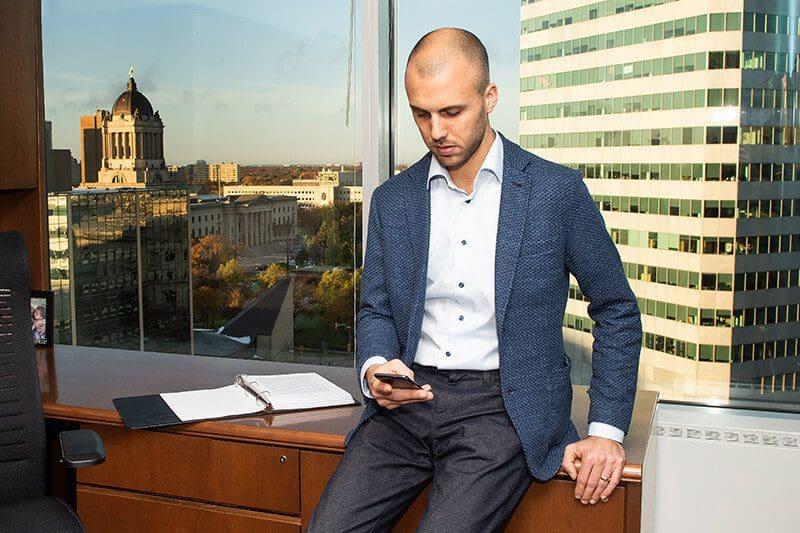 Noah M. Globerman - Pollock & Company Lawyers - Winnipeg Personal Injury Lawyer